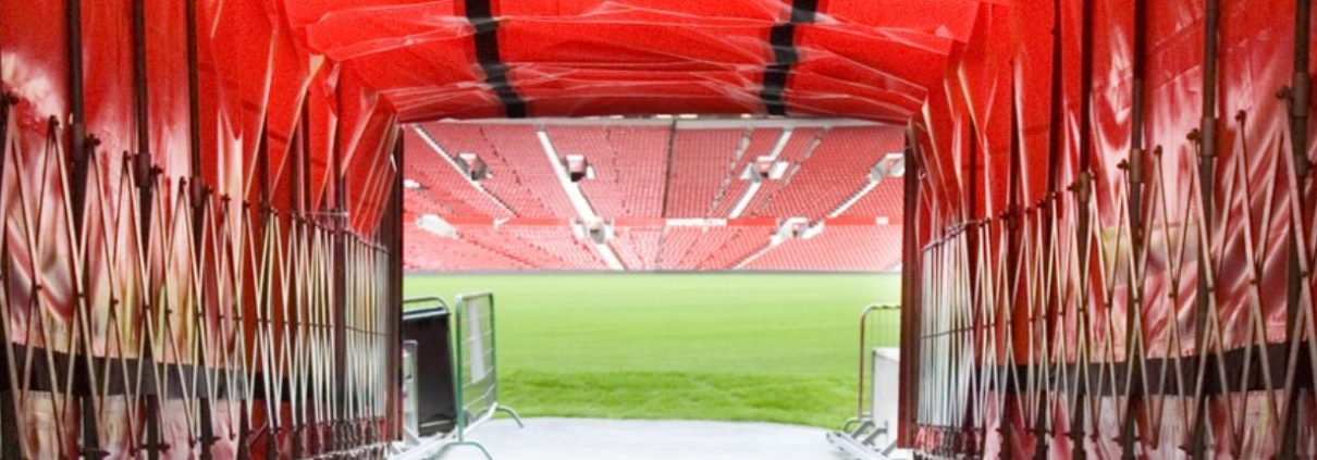 Old Trafford Tour - Stadium Tunnel and Pitch